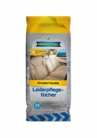 RAVENOL Leather Cleaning Wipes - 25 Pack
