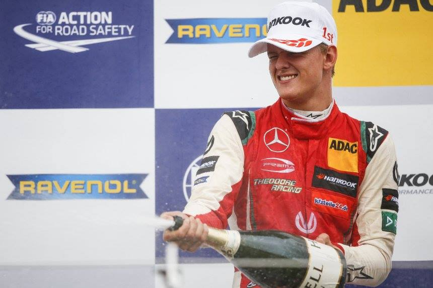 Mick Schumacher is crowned the European F3 Champion