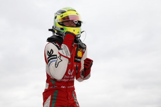 Mick Schumacher follows in his father's footsteps with a win at Silverstone