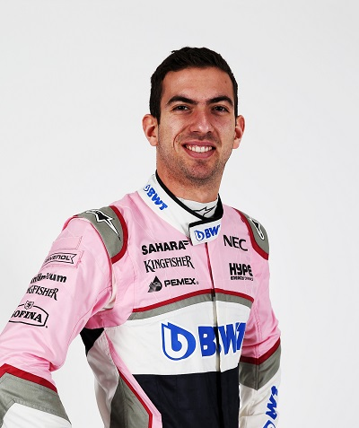 force india driver nicolas latifi