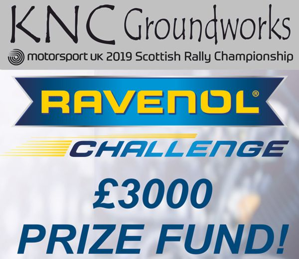 RAVENOL are lubricants partner to the Scottish Rally Championship for 2019