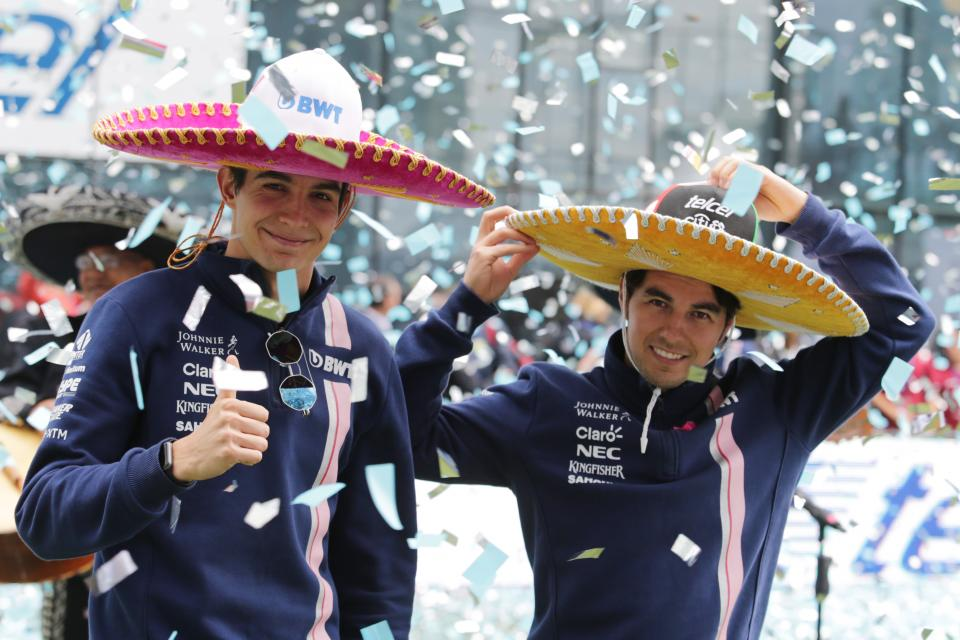 Hats on for the Mexican Grand Prix!