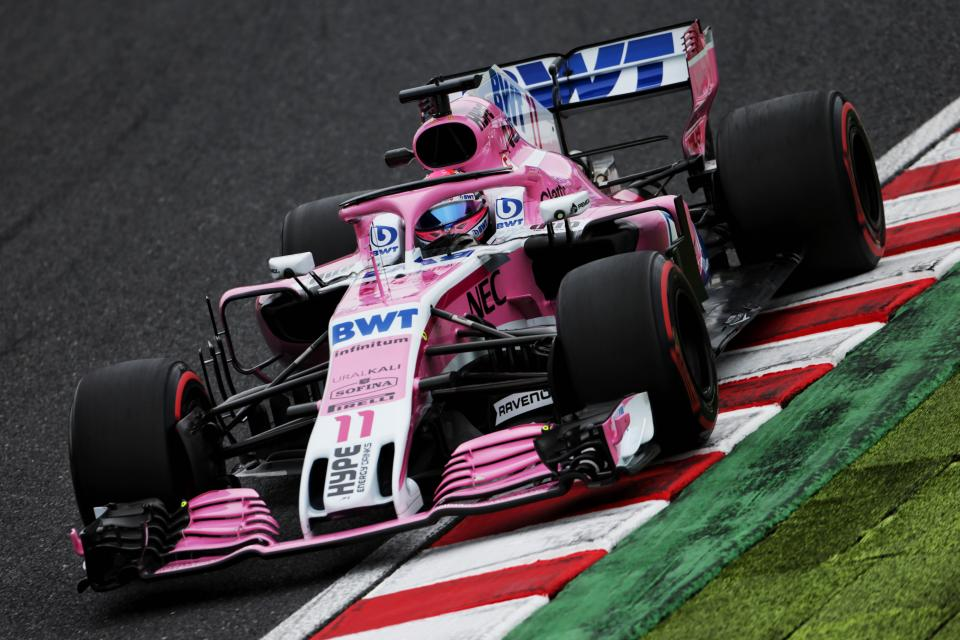 Force India got another double points finish in Suzuka at the Japanese Grand Prix