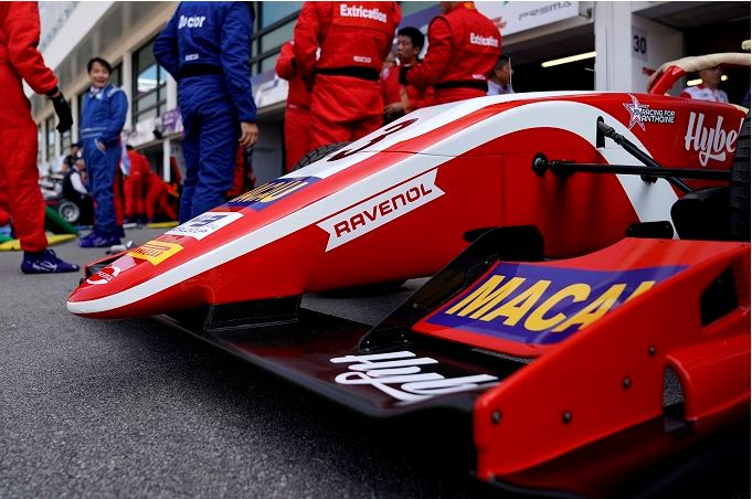 Prema Powerteam are permanent guests at the Macau GP