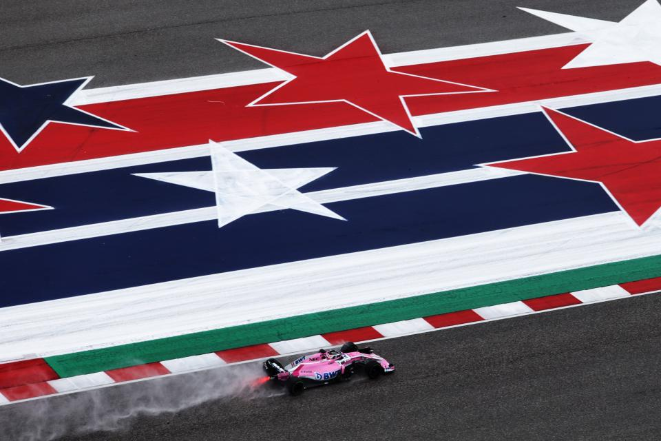 American Dream turned to heartbreak for Force India at the USA Grand Prix