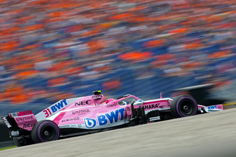Force india's 200th Formula One race at the Red Bull Ring in Austria