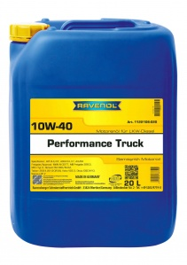 RAVENOL Performance 10W-40 Truck Engine Oil