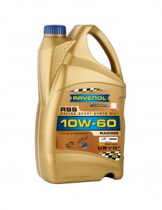 RAVENOL USVO RSS 10W-60 Racing Engine Oil - 5 Litres