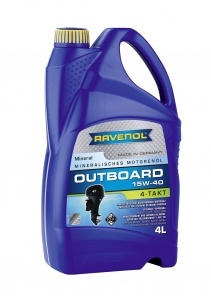 RAVENOL 4T 15W-40 Mineral Outboard Engine Oil
