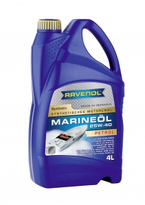 RAVENOL MARINE OIL PETROL 25W-40 Synthetic