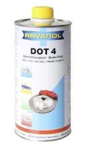 RAVENOL DOT 4 Brake Fluid, 1 Litre