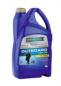 RAVENOL 4T 10W-30 Outboard Engine Oil