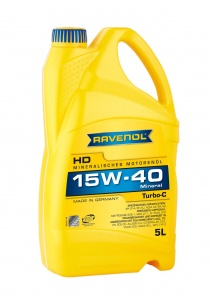 RAVENOL Turbo-C HDC 15W-40 Engine Oil