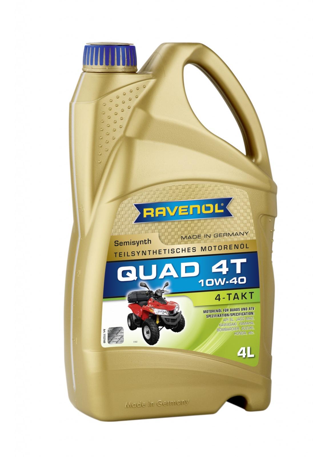 RAVENOL QUAD 4T 10W-40 Engine Oil